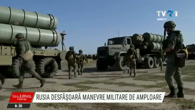 Manevre militare in Rusia