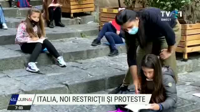 Italia, noi restrictii