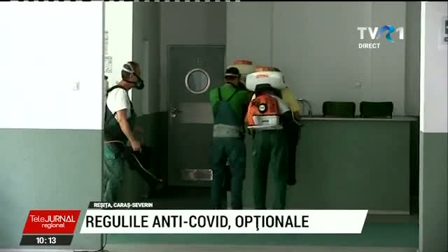 Regulile anti COVID, optionale