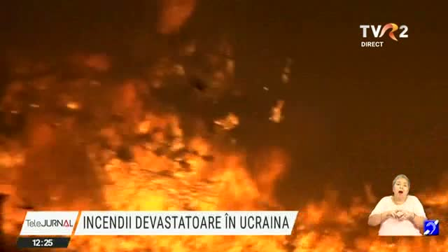 Incendii in Ucraina