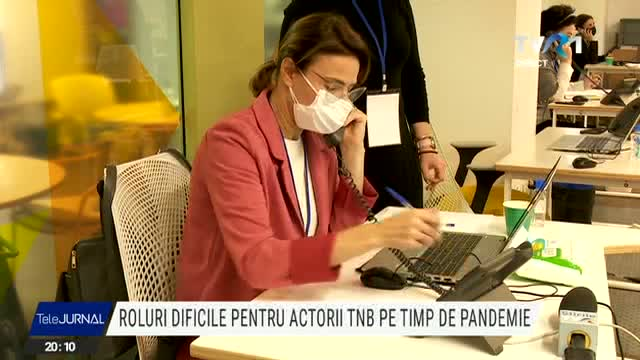 Actorii TNB, voluntari la un call-center DSP