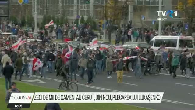 Proteste anti Lukasenko