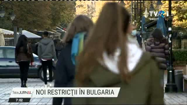 Noi restrictii in Bulgaria