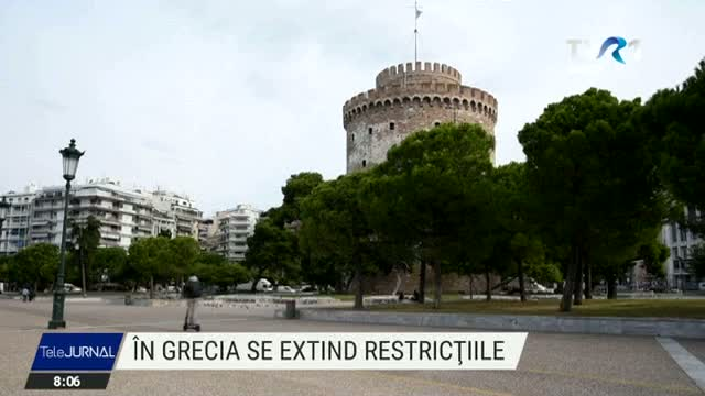 Grecia inaspreste restrictiile