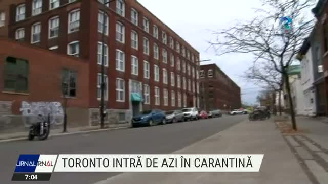 Toronto intra in carantina
