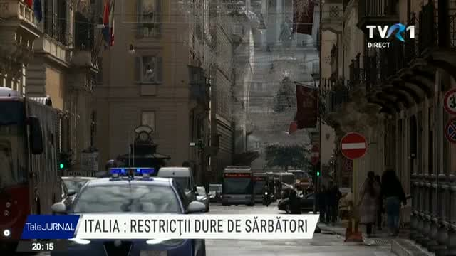 Restrictii in Italia