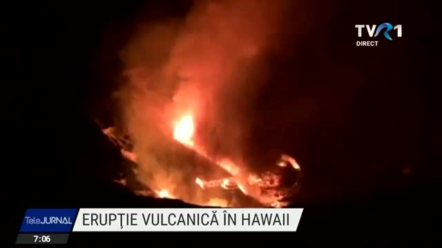 Eruptie in Hawaii
