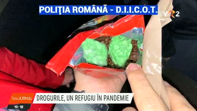 Drogurile, refugiu in pandemie