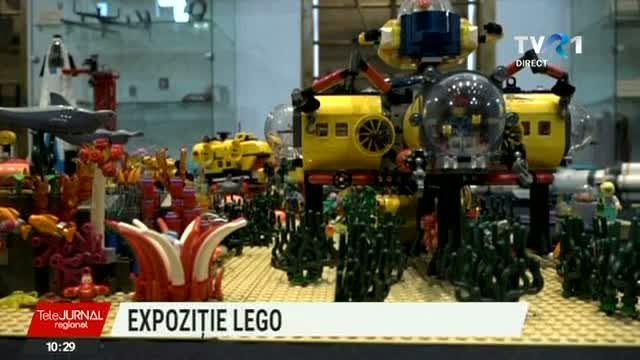 Telejurnal Regional - Expoziție LEGO