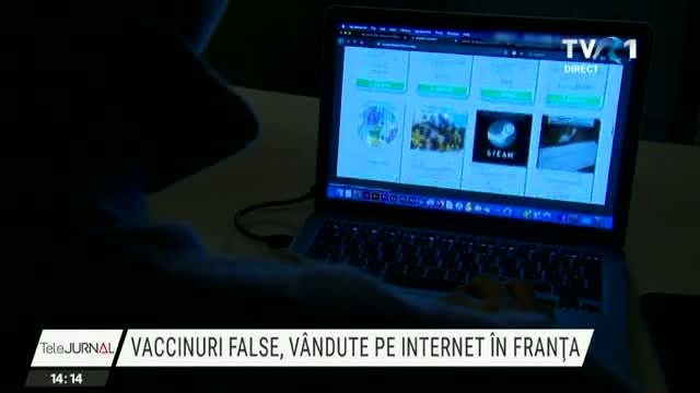 Vaccinuri false vândute pe internet