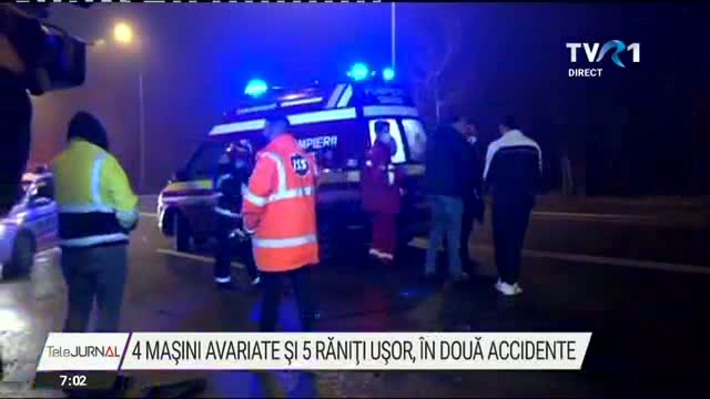 Doua accidente in Capitala