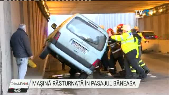 Accident in Baneasa