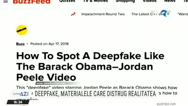 Deepfake, materialele care distrug realitatea