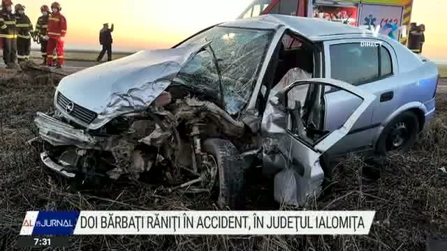 Accident in Ialomita