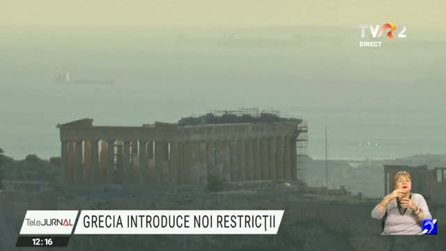 Grecia introduce noi restrictii