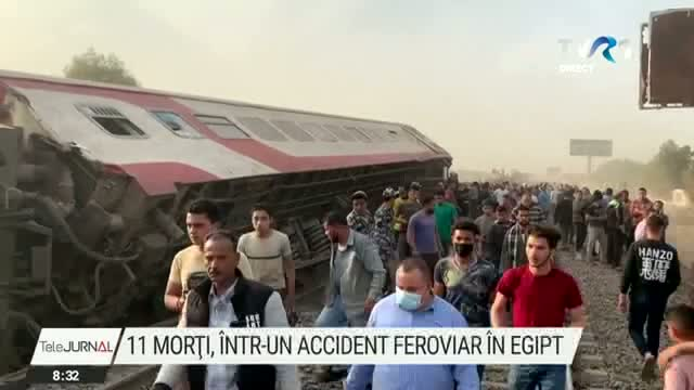 Accident de tren la Cairo